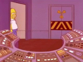 Working Homer Simpson GIF