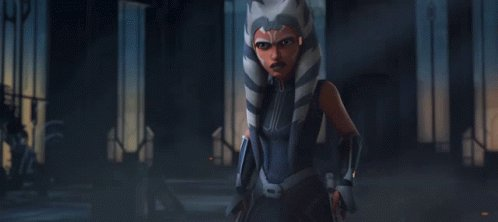 Watching #TheMandalorian and the first live action appearance of #AhsokaTano! Hell yay!