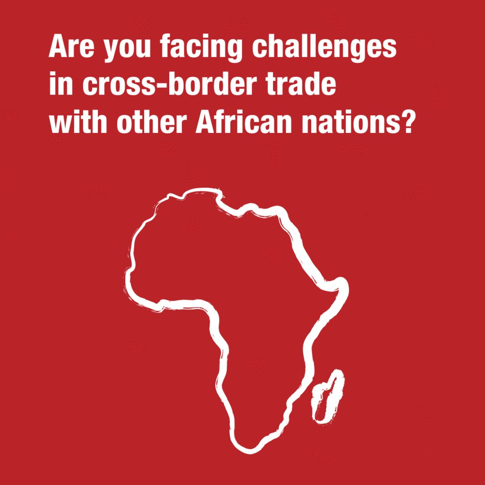 One way to boost trade is to make easier to trade.   Reporting issues and removing barriers can boost intra-African trade using the ▶️ ◀️tool  @af_cta @ECA_OFFICIAL @UNCTAD @AfricanUnionUN