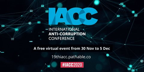 """Only two days for the starting of the International Anti-Corruption Conference💪  This year and for the first time, I WATCH will host a session 😎  """"Does NGOiaztion kill Citizen Engagement?""""  Monday, December 30th, 12-1.30 pm CET  Register here: https://t.co/sjsERlTxgo #IACC2020 https://t.co/s8KPqS41fz"""