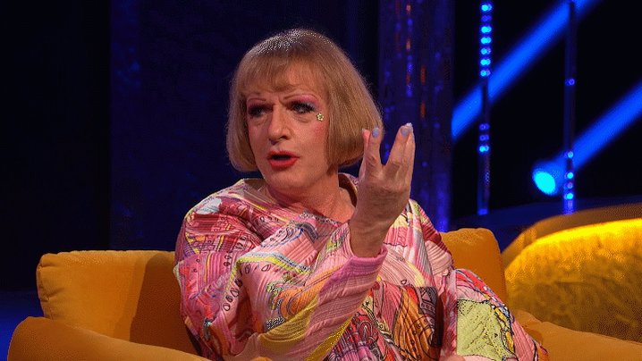 'Shouldn't you be wearing a dress!?! One of @Alan_Measles fans was very disappointed recently! #TheJRShow @ITV @WeareSTV @wossy