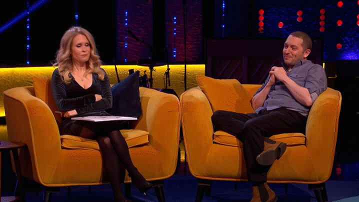 'I stored @LucyABeaumont's number under 'My Wife' on my phone.' - Who knew @RonJichardson was so romantic!?  #TheJRShow @ITV @WeareSTV @wossy