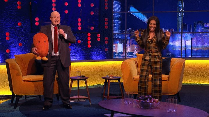 It's the @RealMattLucas and @LadyLeshurr Baked Potato duet you never knew you needed! #TheJRShow @ITV @WeareSTV @wossy