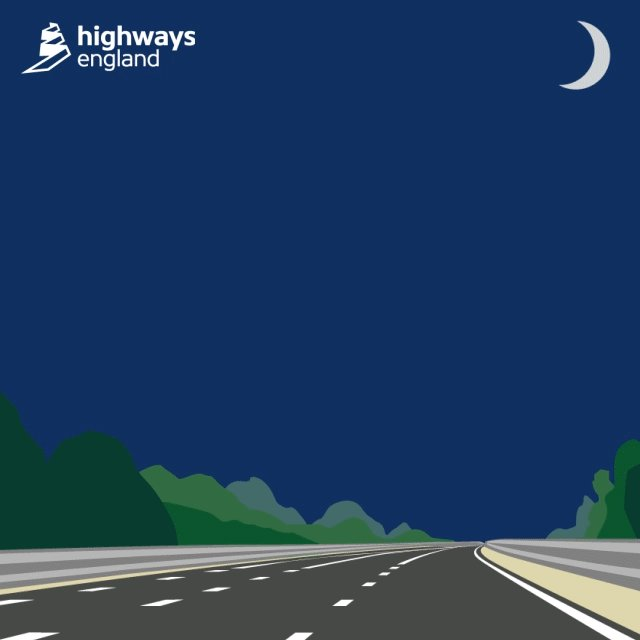 #M5 #J11A #Gloucester to #J12 #Stonehouse Southbound is closed for resurfacing. The road is expected to reopen at 6AM. Diversions are in place. #WeAreWorkingForYou