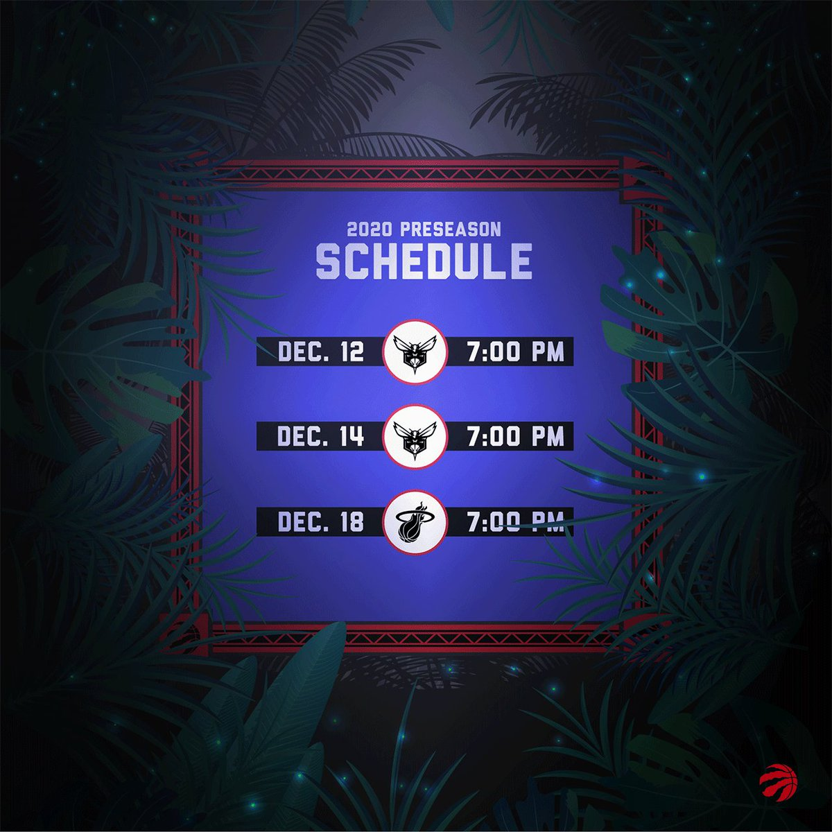 Toronto Raptors basketball returns December 12th 😍 #WeTheNorth   🔗 https://t.co/O7Hpk1Rgyw https://t.co/JP1qELWVqv