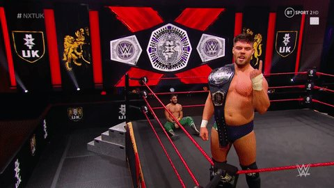 #AndStill the WWE NXT Cruiserweight Champion 🏆  @Jordan_Devlin1 🇮🇪  #NXTUK https://t.co/jzYmXObn2K