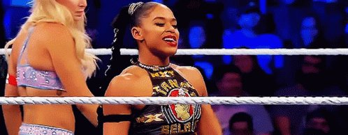 2021 women's royal rumble winner, Bianca Belair, has a very nice ring to it, me thinks. #SmackDown