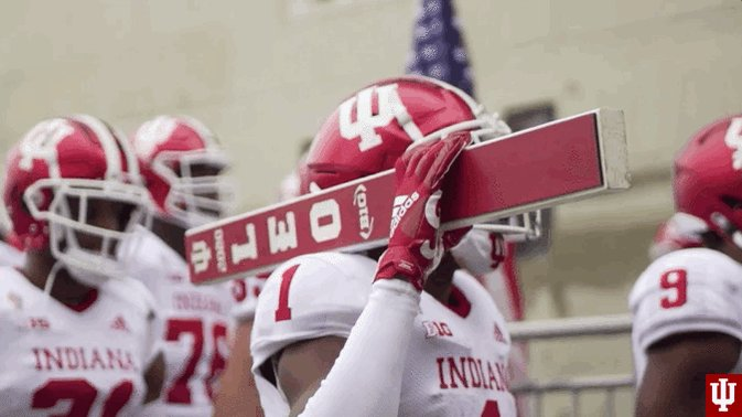 It's game day #IUFB