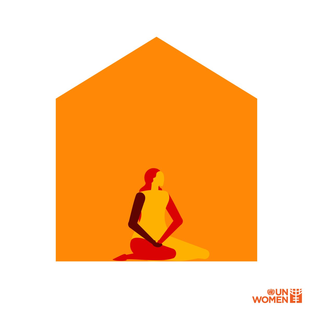 As people stayed home to stop the spread of #COVID19, reports of violence against women & girls began to rise, especially in humanitarian settings.  This #16Days of Activism, #orangetheworld to show you stand with survivors and their right to justice.