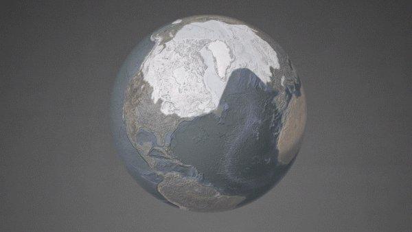 Variaciones cíclicas en la órbita de la Tierra provocaron edades de hielo y grandes deshielos: hubo glaciares que cubrieron gran parte de Norteamérica y se retiraron cuando el clima se calentó. Estos cambios son diferentes al calentamiento de ahora, debido a la actividad humana. https://t.co/5HRoaIFQsb