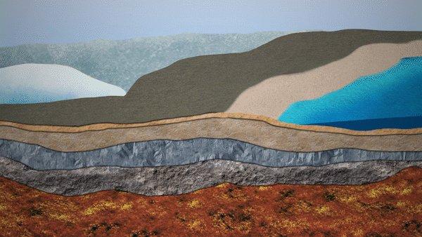 Al mismo tiempo, el suelo que se había abultado alrededor de las capas de hielo está descendiendo con respecto al nivel del mar. Esto puede reforzar los efectos del aumento del nivel del mar causado por el calentamiento actual. https://t.co/hwz2TC63Ul