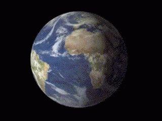 Earth Globe GIF