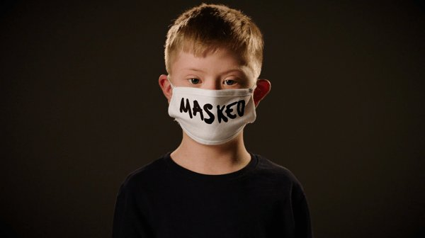 """""""We are the children you can't silence. Masked not muted.""""   #worldchildrensday #voicesofyouth"""