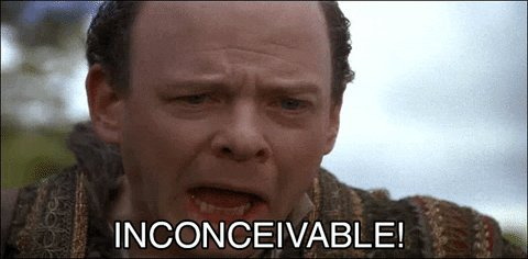 shocked the princess bride GIF