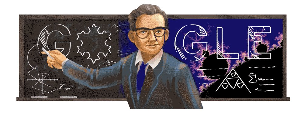 "Polish-born, French & American mathematician Benoit Mandelbrot introduced the 🌍 to the powerful concept of fractals: irregular yet infinitely repeating mathematical shapes.  Learn more about the ""father of fractal geometry"" with today's #GoogleDoodle →"