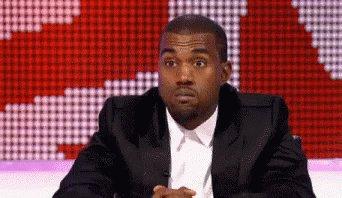 Kanye Shakes Head GIF