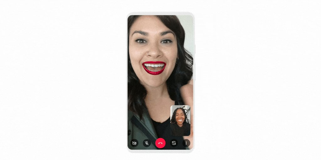 Your video calls are about to get a glow up. 💄 Now you can try on makeup with AR in the new @LorealParisUSA face filters on Google Duo →