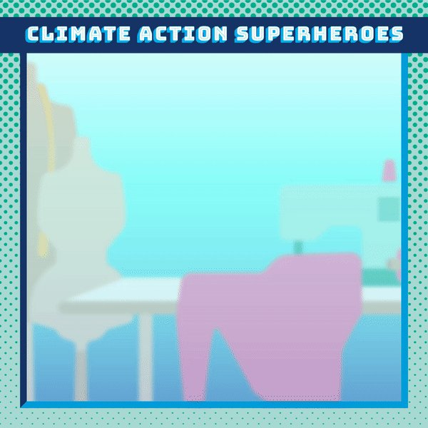 Every second, the equivalent of one garbage truck full of textiles is landfilled or burned, polluting our environment and adding harmful greenhouse gases.   Be a #ClimateAction Superhero - mend, donate and keep clothing out of landfills!  #ActNow