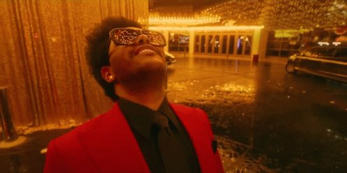 """According to final predictions, @theweeknd's """"Blinding Lights"""" will break the Billboard Hot 100's top 10 record. (Via @Winston_Nuo)"""