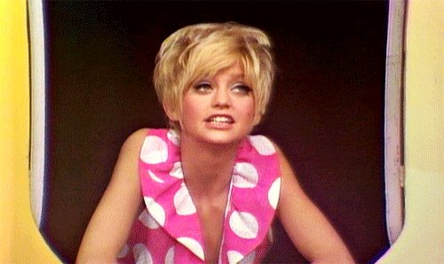 Happy birthday, Goldie Hawn!