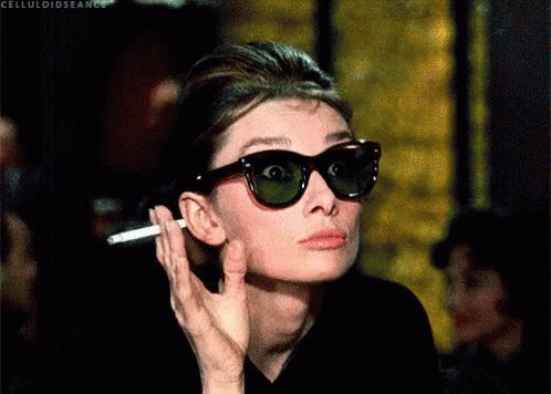 Audrey Hepburn What GIF