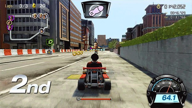 Dragon Kart is just like go karting if go karts were street legal and had turret guns attached to the front