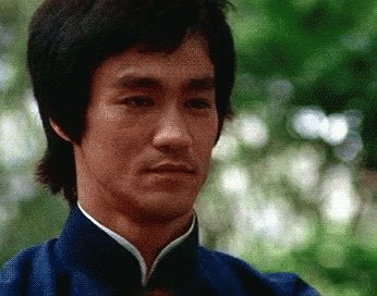 Bruce Lee Bow GIF