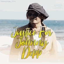 Justice For Johnny Depp Smile GIF
