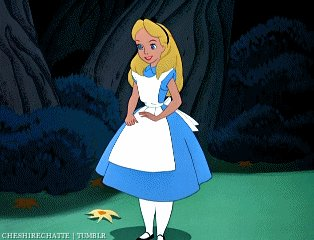 Alice In Wonderland Thank You GIF