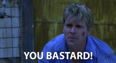 You Bastard Hate You GIF