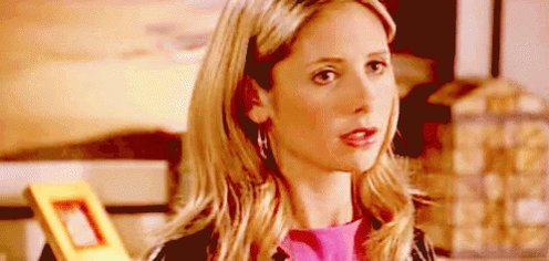 Buffy Sarah Michelle Geller GIF