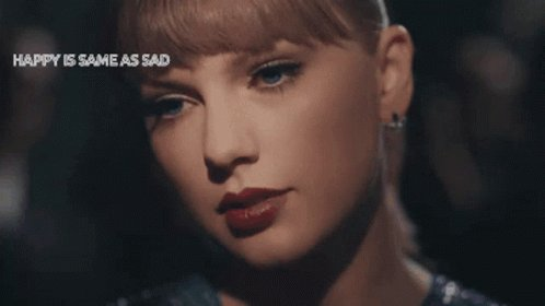 Taylor Swift Sad GIF