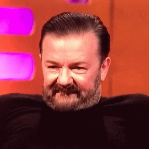 Gratitude in abundance today to @rickygervais for your wonderful funny weekly bollocks.   If you have the best fans in the world, it's because you deserve them!   Thank you 🙏 #ThankYouSirRicky