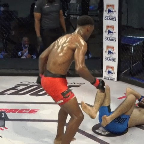 The Ali Shuffle with a little 🇩🇴 twist... @TitanFighting #TitanFC65🇩🇴  LIVE NOW 🔴 https://t.co/ruxGRAM6g6 https://t.co/C80iqaC3eC