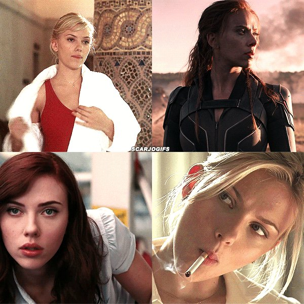 Happy birthday to the talented, gorgeous & amazing Scarlett Johansson!