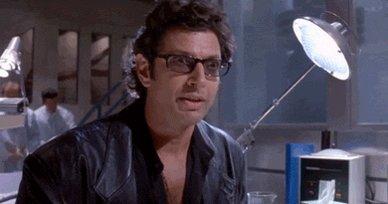 gif of Jeff Goldblum as Ian...