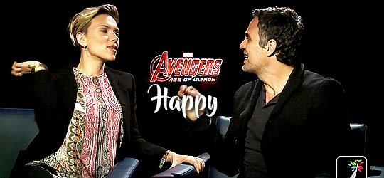 Happy Birthday, Scarlett Johansson and Mark Ruffalo. November 22, 1984 & November 22, 1967.
