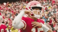 Take me to the promise land @PatrickMahomes