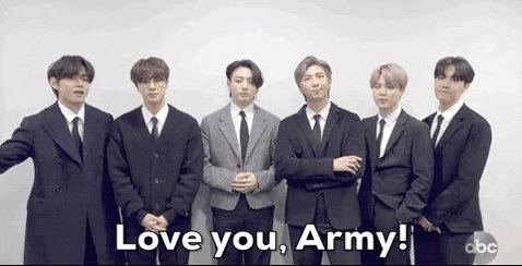 🚨 VERY URGENT AND SPECIAL MESSAGE FROM @BTS_twt at the #AMAs this evening: