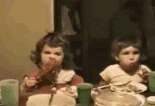 Funny Eating GIF