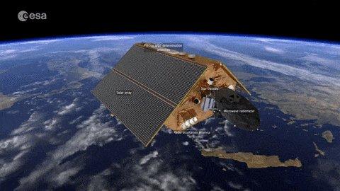 🛰️🌊 Avec le satellite #Sentinel6 Michael Freilich, le CNES est au centre de la performance altimétrique de la filière TOPEX / JASON / Sentinel-6. Lancé le 21 novembre, il fournira des mesures cruciales de l'élévation du niveau de la mer.
