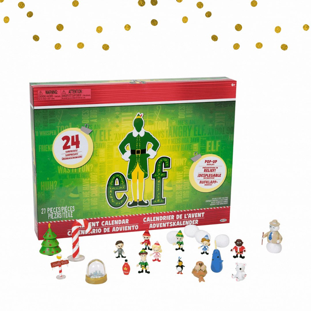 Who has their #advent calendars ready? The official countdown to #Christmas starts next week!🎄🎁 Available @Walmart #WalmartCollectibles https://t.co/Q7344Uxp6s https://t.co/kne33XMwpW