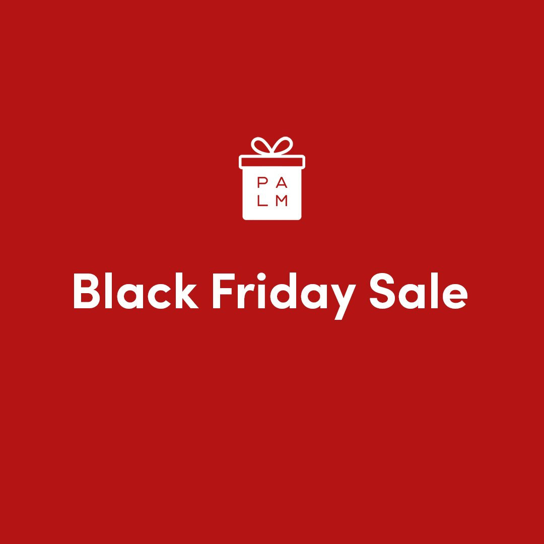 Don't forget our Black Friday sale is ONE DAY ONLY. 11.27.2020. Best deals on Palm ever + side-wide sales.  #PalmPhone #LifeMode #BlackFriday