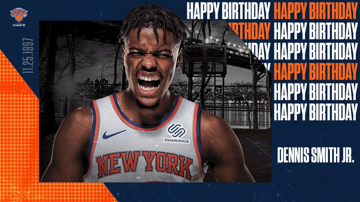 Happy Birthday, @Dennis1SmithJr!!! 🎉🎂   #NewYorkForever