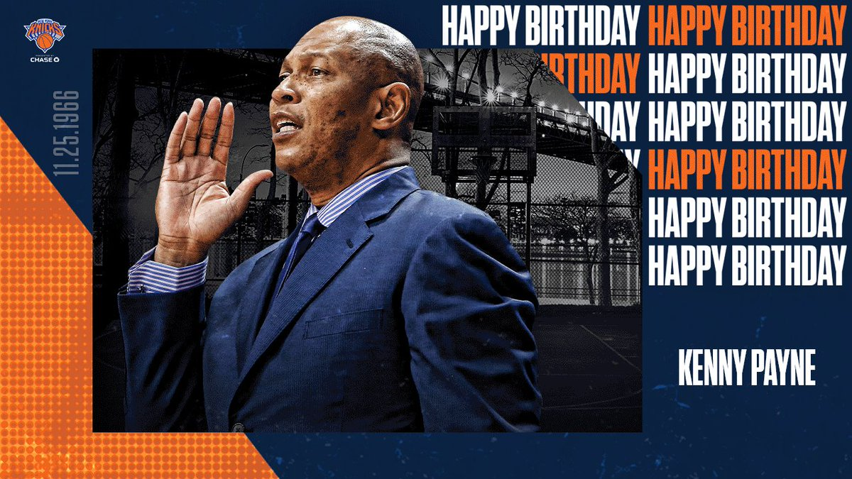 Wishing you a very Happy Birthday, Coach Payne!