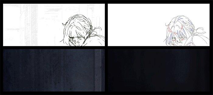 【アニメーション制作風景】スタッフトークレポートがもっと楽しめる!『劇場版 #ヴァイオレット・エヴァーガーデン』の心に残る1カットを紐解きながら、アニメーション制作の行程を特別にご紹介!ヴァイオレットはこうして出来上がりました🌸#VioletEvergarden