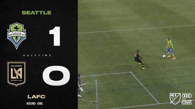 HT: Playoff Nico is a PROBLEM.  #SEAvLAFC // @Audi #MLSCupPlayoffs