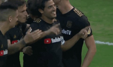 O, EDDIE SPAGHETTI! THIS BALLGAME IS NOT QUITE OVER JUST YET! Atuesta (20) SCORES on a walk-in one-timer toepoke tap-in in minute 77 to get back in the conversation!  @LAFC 1 : 2 @SoundersFC  #SEAvLAFC #LAFC #BarrioAngelino #Sounders #VamosSounders #MLSCupPlayoffs