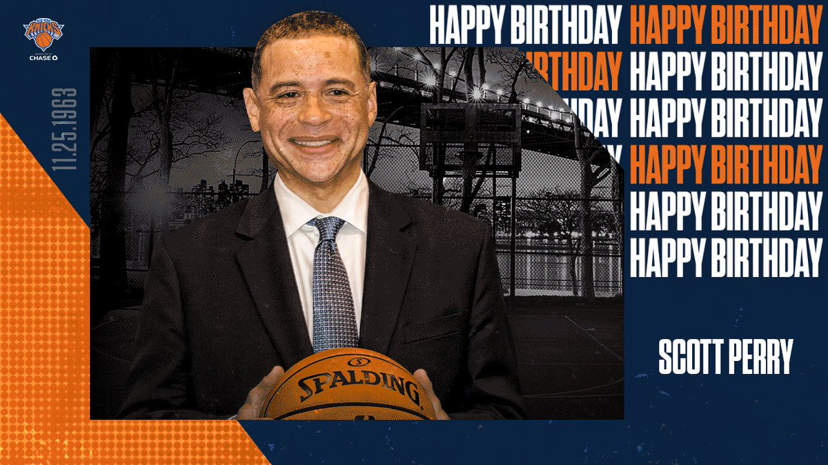 Join us in wishing a Happy Birthday to our GM, Scott Perry!