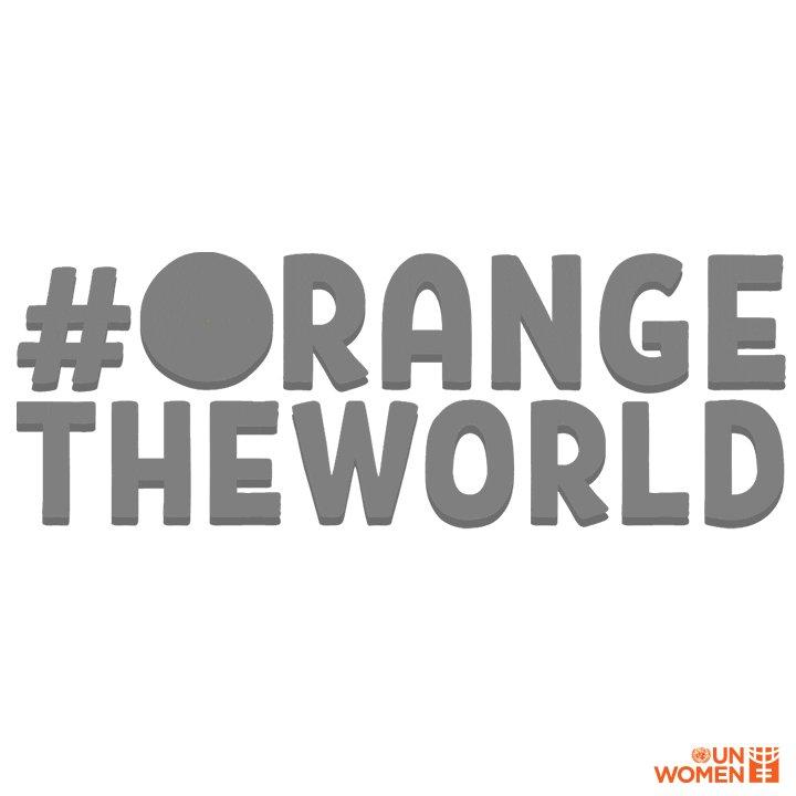 Together we must fight gender stereotyping and #EndViolenceAgainstWomen.  #16Days #OrangeTheWorld https://t.co/sKA9ezfrpV